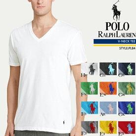 ポロ ラルフローレン 無地T Vネック Tシャツ POLO RALPH LAUREN PL84 V-NECK ラルフ tシャツ▲[ホワイト][ブラック][グレー][ブルー][レッド][グリーン][オレンジ][イエロー][パープル]ds-Y