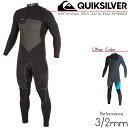 QUIKSILVER ウェットスーツ AG47 Performance 3/2mm Chest Zip Wetsuit AQYW103033 長袖 チェストジッ...