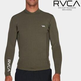 ルーカ ウェットスーツ RVCA BACKZIP NEOPRENE MR54NRBZ メンズ 水着 バックジップ ネオプレン アンセルジャケット ジャケット タッパー