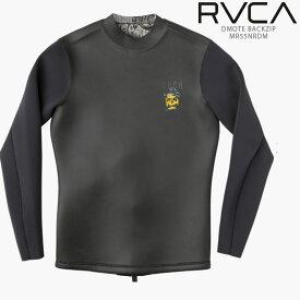 ルーカ ウェットスーツ DMOTE BACKZIP MR55NRDM RVCA メンズ 水着 バックジップ ネオプレン アンセルジャケット ジャケット タッパー