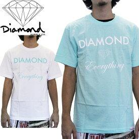 ■アウトレット品■ダイアモンドサプライ Tシャツ DIAMOND SUPPLY Diamond Everything T Shirts C13-P101 sale セール▲[ホワイト][ブルー]