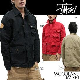 【Red-Sのみ/完売間近】[在庫処分]ステューシー ウッドランドジャケット STUSSY Woodland Jacket 0150138 アウトレット sale セール ds-Y