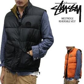 【Orange-Sのみ/完売間近】[在庫処分]ステューシー リバーシブルベスト STUSSY Westridge Reversible Vest 0150131 アウトレット sale セール ds-Y