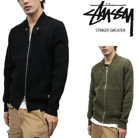 【Olive-Lのみ/完売間近】[在庫処分]ステューシー ストライカーセーター STUSSY Striker Sweater 017309 アウトレット sale セール ds-Y