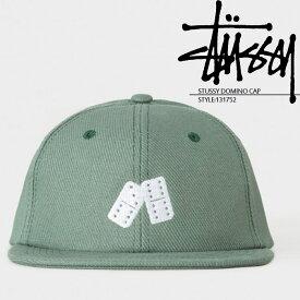 ステューシー STUSSY DOMINO CAP 131752 スナップバック キャップ 帽子 ダイス サイコロ STUSSY ストリート サーフ スケートボード サーファー ds-Y