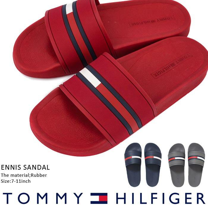 トミーヒルフィガー サンダル ENNIS SANDAL Tommy hilfiger エニス サンダル スリッパ ビーチサンダル シャワーサンダル スリッパ