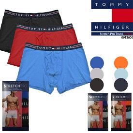 トミーヒルフィガー ボクサーブリーフ ボクサーパンツ Tommy hilfiger Stretch Pro Trunk 3 Pack 3枚組 09T3600 メンズ 男性 sale セール プレゼント ラッピング▲[ブルー][レッド][ブラック][グレー][その他]■CRNG[ZRC]