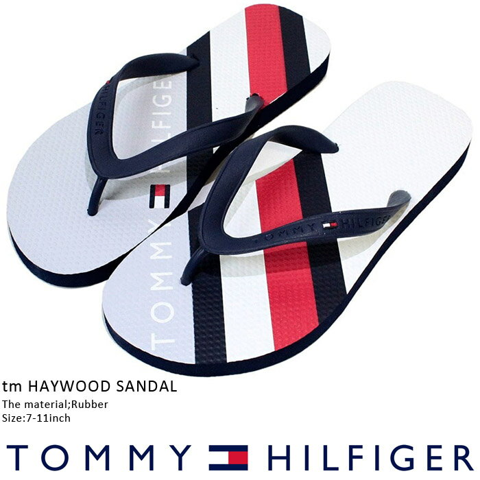 トミーヒルフィガー サンダル tm HAYWOOD SANDAL Tommy hilfiger Grasy サンダル スリッパ ビーチサンダル シャワーサンダル