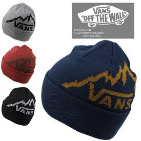 ■アウトレット品■[ネコポス送料\200]バンズ ニット帽 帽子 VANS RANGE BEANIE ビーニー ニットキャップ ヘッドウェア ハット スノーボード アウトレット sale セール