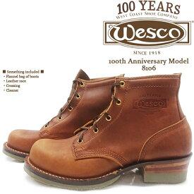 増税前の冬支度★9/30迄★ウエスコ ワークブーツ WESCO 100th Anniversary Model 8106 送料無料 ds-Y