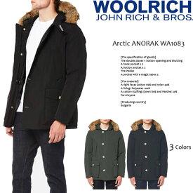 ウールリッチ ダウンコート woolrich Arctic ANORAK WA1083 アークティックアノラック JOHN RICH & BROS ダウンジャケット アークティックパーカー メンズ 男性 ▲[ブラック][グレー][グリーン] ds-Y