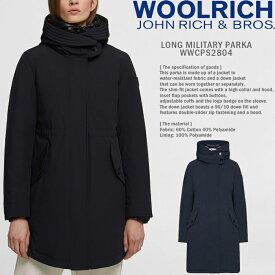 [送料無料]ウールリッチ レディース ダウンコート WOMENS woolrich LONG MILITARY PARKA WW0162(WWCPS2804) ロングミリタリーパーカー JOHN RICH & BROS ダウンジャケット ウーマンズ 女性