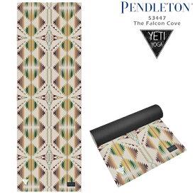 [送料無料]ペンドルトン × イエティヨガ ヨガマット Yeti × PENDLETON EXTRA DURABLE YOGA MAT Falcon Cove 53447 5mm ファルコンコーブ フィットネス ホットヨガ ピラティス ds-Y