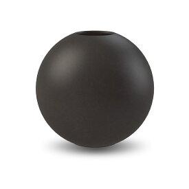 【3980円以上で送料無料!】Cooee Design 花瓶 ボール フラワーベース 20cm ブラック 黒 おしゃれ 陶器 大型 大きい 北欧 モダン nest クーイー クーイーデザイン スウェーデン