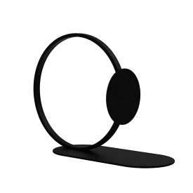 【ポイント最大20倍!要エントリー】【4月上旬入荷予定】Cooee Design ブックエンド リング ブラック 15cm ブックリング 本立て 黒 北欧 モダン おしゃれ nest クーイー クーイーデザイン スウェーデン
