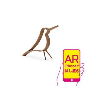 【ARテスト運用中】Cooee Design ウッディ バード オーク S 14cm 鳥 木製 オブジェ Woody Bird 北欧 モダン おしゃれ nest クーイー クーイーデザイン スウェーデン
