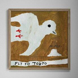 【3980円以上で送料無料!】Fine Little Day FLY TO TOKYO ポスター 50x50cm ファインリトルデイ 北欧 スウェーデン