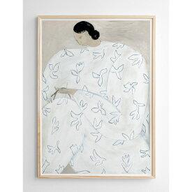 Fine Little Day WHITE FLOWER ポスター 50x70cm 白い花 by Sofia Lind ファインリトルデイ おしゃれ 女性 北欧 スウェーデン
