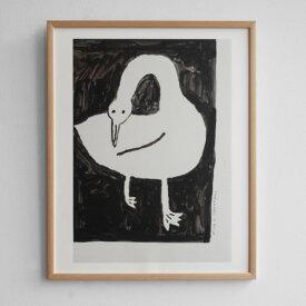Fine Little Day ポスター 白鳥 40x50cm ファインリトルデイ 北欧 スウェーデン