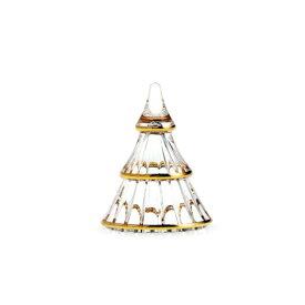 HOLMEGAARD クリスマス ツリー S ガラス H7.5cm デコレーション ゴールド 金 ホルムガード 北欧 デンマーク おしゃれ インテリア インテリア雑貨