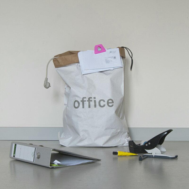 kolor ペーパーストレージバッグ Office グレー ドイツ【メール便OK】