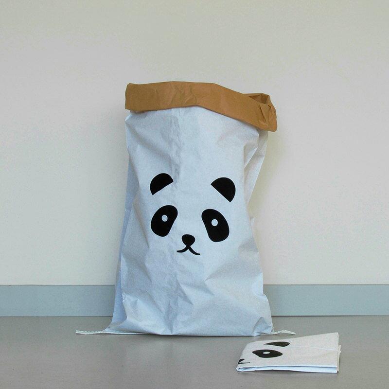 kolor ペーパーストレージバッグ「パンダ」 ドイツ【メール便OK】