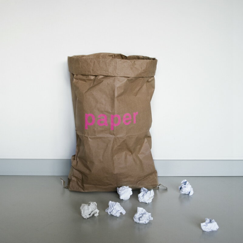 kolor ペーパーストレージバッグ Paper ピンク ドイツ【メール便OK】
