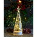 【最大2,000円OFFクーポン配布中!】【ラスト1点】SIRIUS 発光する クリスマス ツリー 中 22cm ガラス LED 北欧 デン…