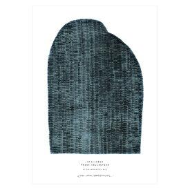 【3980円以上で送料無料!】STILLEBEN 「ブルーマウンテン」アートプリントポスター A4 北欧 デンマーク【メール便OK】