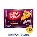 【ネスレ公式通販】キットカット ミニ オトナの甘さ アップルパイ味 ×12【KITKAT チョコレート | ネスレ チョコ お菓…