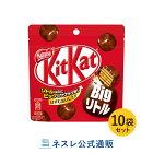 キットカットビッグリトルパウチ50g×10袋セット【ネスレ公式通販】【KITKATチョコレート】