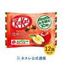 キットカット ミニ 信州りんご10枚×12袋セット【ネスレ公式通販】【KITKAT チョコレート】