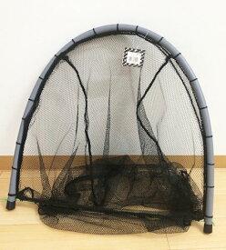 コンパクト、押し網(サデ網)60cm、おもり付