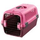 【特価】【なくなり次第終了】リッチェル キャンピングキャリー S 小型犬用 ピンク