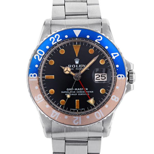 ロレックス GMTマスター ROLEX GMT-MASTER/1675【アンティーク】【メンズ】