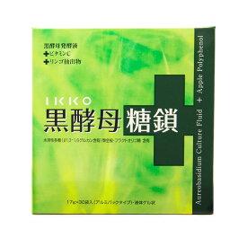 黒酵母エキス 黒酵母糖鎖 17ml×30袋(30日分) 酵母 サプリメント
