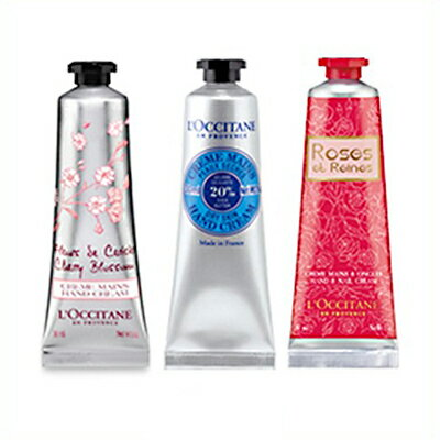 特価 ロクシタン ハンドクリーム3種セット 30ml (チェリーブロッサム/ローズ/シア) ギフトギフトセット 誕生日 プレゼント 女性 女友達 L'OCCITANE