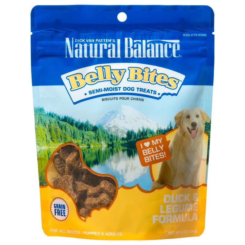 ナチュラルバランス ベリーバイツ ダック&レジューム 170g Natural Balance 【犬用/ドッグフード/小型犬/中型犬/大型犬/子犬/成犬/高齢犬】