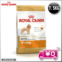 【アウトレット】【訳あり】ロイヤルカナン プードル 成犬用 7.5kg ROYAL CANIN