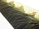 粋趣清映彩薫風模様織り出し京袋帯(384cm)【リサイクル】【中古】