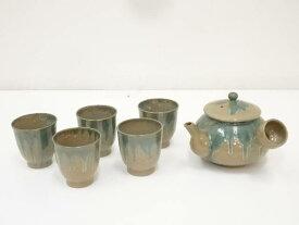 上野焼 茶器セット【中古】【道】