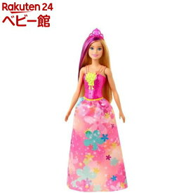 バービー プリンセス ピンクフラワー GJK13(1個)【バービー人形】