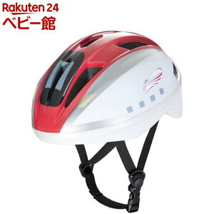 キッズヘルメットS 新幹線 E6系 こまち(1セット)【アイデス】[三輪車 のりもの ヘルメット]