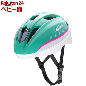 キッズヘルメットS 新幹線 E5系 はやぶさ(1セット)【アイデス】[三輪車 のりもの ヘルメット]