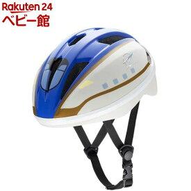 キッズヘルメットS 新幹線 E7系 かがやき(1セット)【アイデス】[三輪車 のりもの ヘルメット]