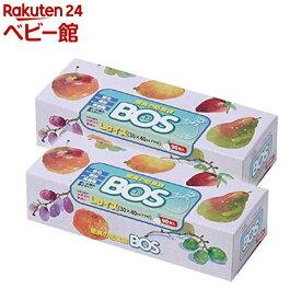防臭袋BOS Lサイズ 箱型(90枚*2個)【防臭袋BOS】[おむつ トイレ ケアグッズ オムツ用品]