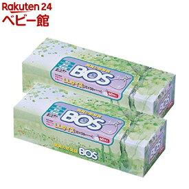 防臭袋BOS LLサイズ 箱型(60枚*2個)【防臭袋BOS】[おむつ トイレ ケアグッズ オムツ用品]