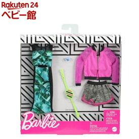 バービー ファッション2パック フラワー・ピンク GHX63(1個)【mtlyf】【バービー人形】