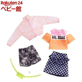 バービー ファッション2パック ジャケット・ギンガム GHX58(1セット)【mtlda】【バービー人形(Barbie)】