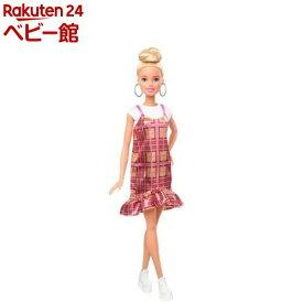 バービー ファッショニスタ ピンクチェックドレス GHW56(1個)【バービー人形】
